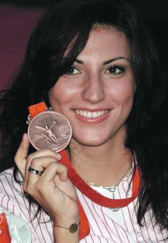 Mirna_Jukic_olympic_medal_2008